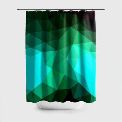 Штора 3D для ванной  Фото 01, Абстракция
