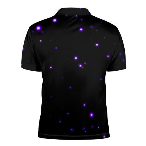 Мужская рубашка поло 3D  Фото 02, Космос