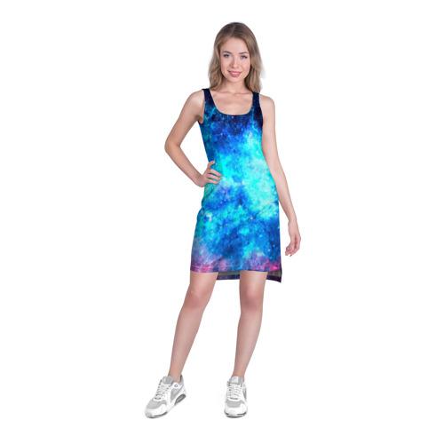 Платье-майка 3D Вселенная Фото 01