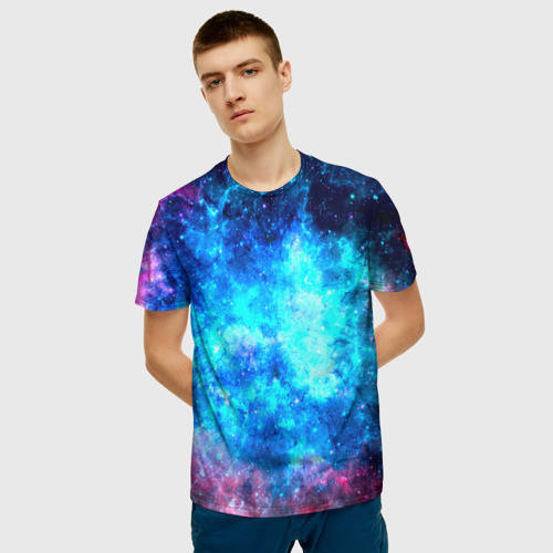 Мужская футболка 3D Вселенная Фото 01
