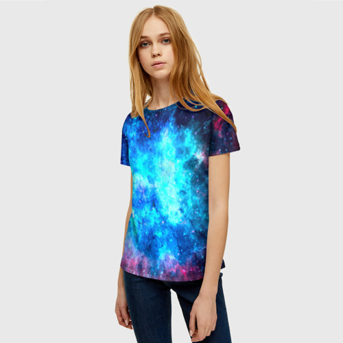 Женская футболка 3D Вселенная Фото 01