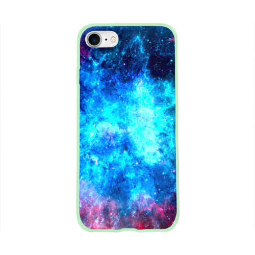Чехол для Apple iPhone 8 силиконовый глянцевый Вселенная Фото 01