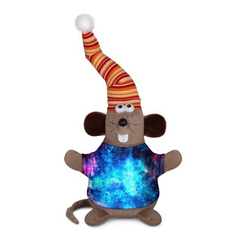 Мышь в футболке 3D Вселенная Фото 01