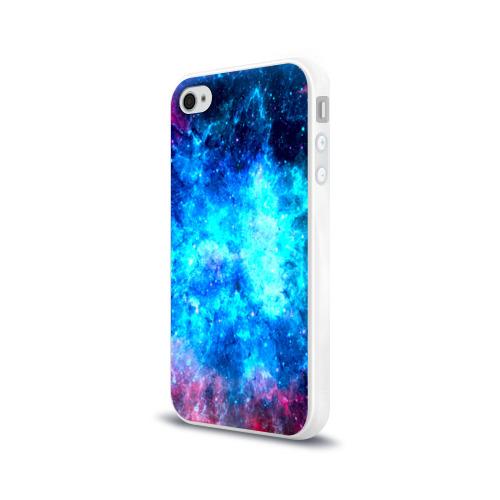 Чехол для Apple iPhone 4/4S силиконовый глянцевый Вселенная Фото 01