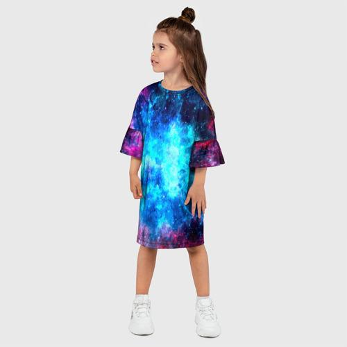 Детское платье 3D Вселенная Фото 01
