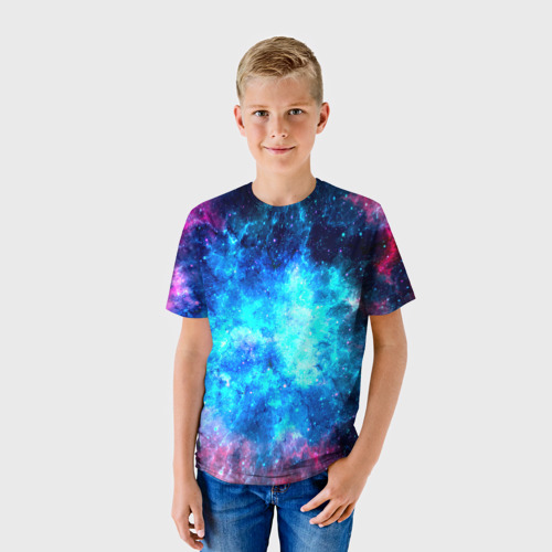 Детская футболка 3D Вселенная Фото 01
