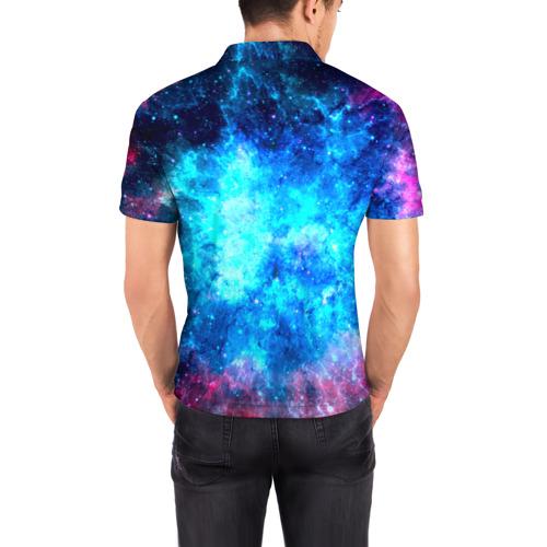 Мужская рубашка поло 3D Вселенная Фото 01