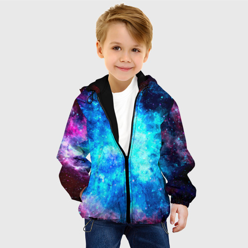 Детская куртка 3D Вселенная Фото 01