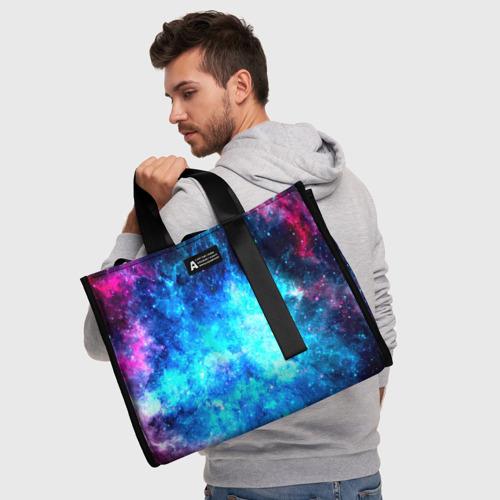 Сумка-шоппер 3D Вселенная Фото 01