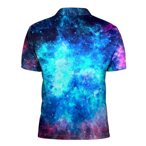 Мужская рубашка поло 3D  Фото 02, Вселенная