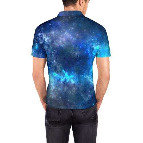 Мужская рубашка поло 3D  Фото 04, Nebula
