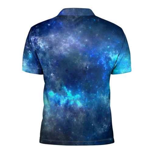 Мужская рубашка поло 3D  Фото 02, Nebula