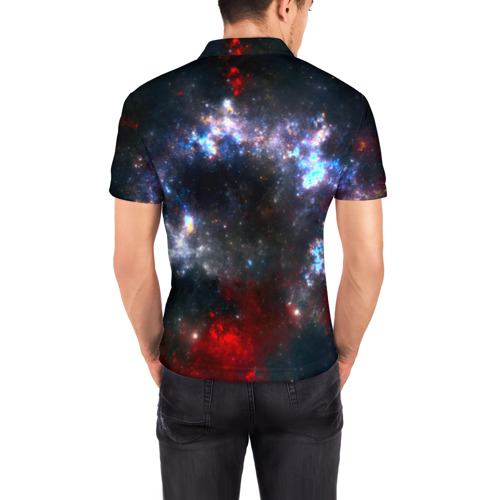 Мужская рубашка поло 3D  Фото 04, Туманность