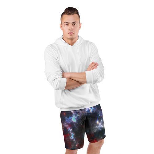 Мужские шорты 3D спортивные  Фото 05, Туманность