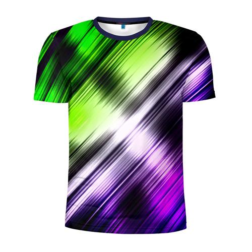 Мужская футболка 3D спортивная Потертости