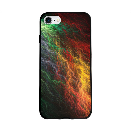 Разноцветные молнии