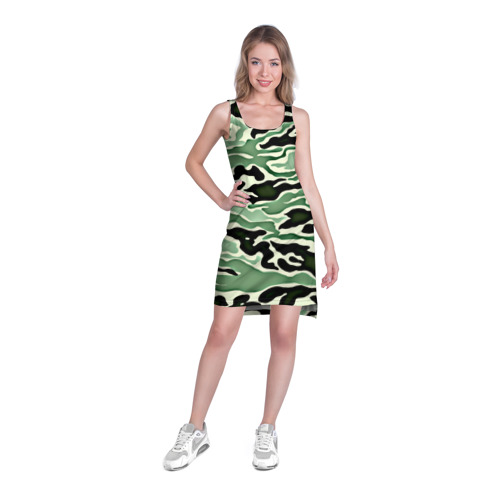 Платье-майка 3D  Фото 03, Камуфляж