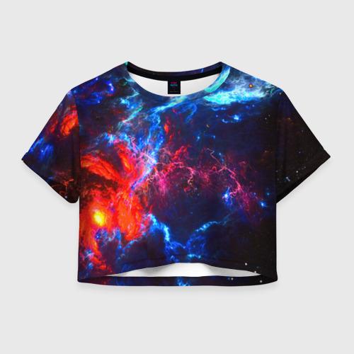 Женская футболка Cropp-top Космос Фото 01