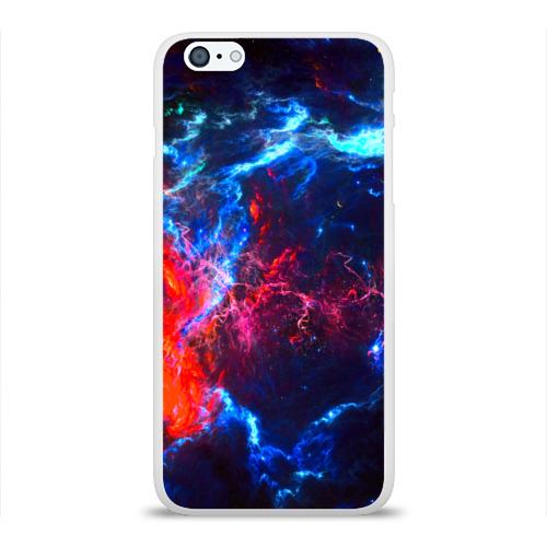 Чехол для Apple iPhone 6Plus/6SPlus силиконовый глянцевый Космос Фото 01