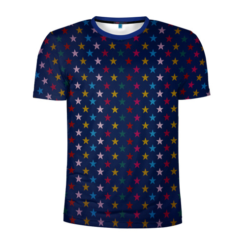 Мужская футболка 3D спортивная Star