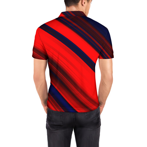Мужская рубашка поло 3D  Фото 04, Grunge