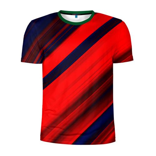 Мужская футболка 3D спортивная Grunge