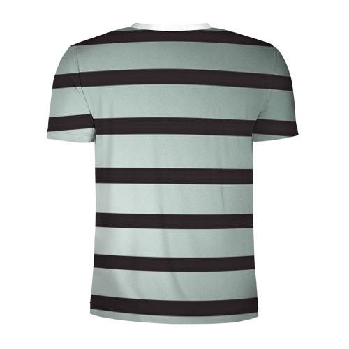 Мужская футболка 3D спортивная  Фото 02, Полосы