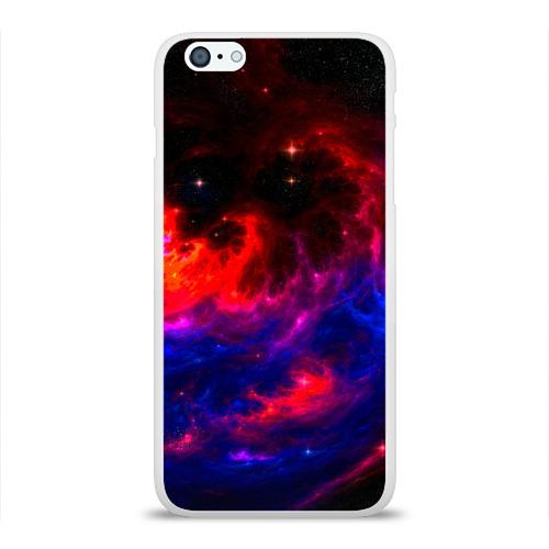 Чехол для Apple iPhone 6Plus/6SPlus силиконовый глянцевый  Фото 01, Космос