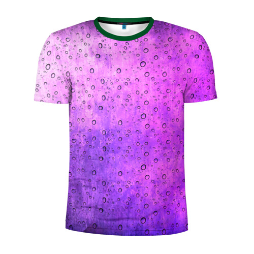 Мужская футболка 3D спортивная Капля