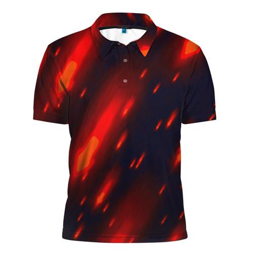 Мужская рубашка поло 3D  Фото 01, Краски