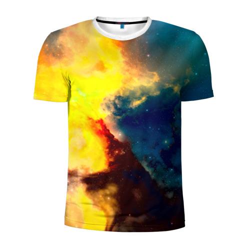 Мужская футболка 3D спортивная  Фото 01, Космос