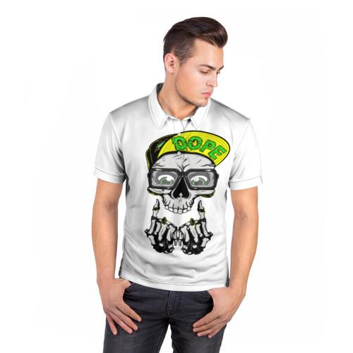 Мужская рубашка поло 3D  Фото 05, Dope