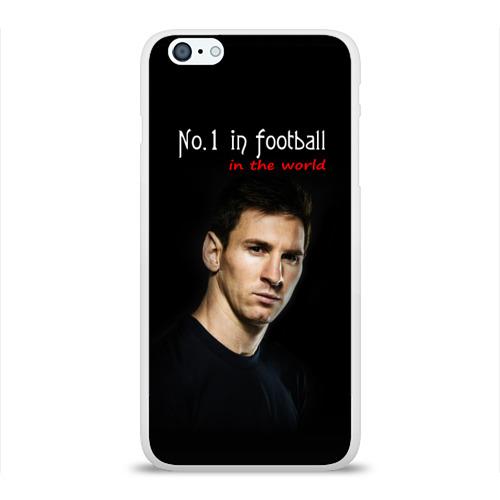 Чехол для Apple iPhone 6Plus/6SPlus силиконовый глянцевый  Фото 01, No.1 in football in the world