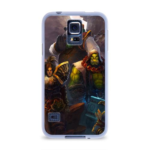 Чехол для Samsung Galaxy S5 силиконовый  Фото 01, Герои Warcraft