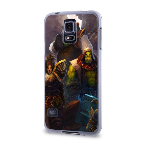 Чехол для Samsung Galaxy S5 силиконовый  Фото 03, Герои Warcraft