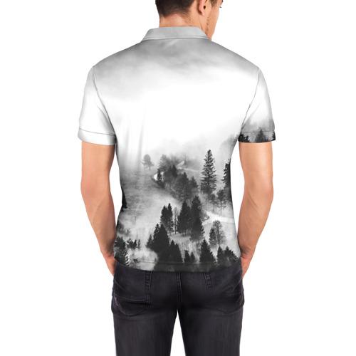 Мужская рубашка поло 3D  Фото 04, Гармония