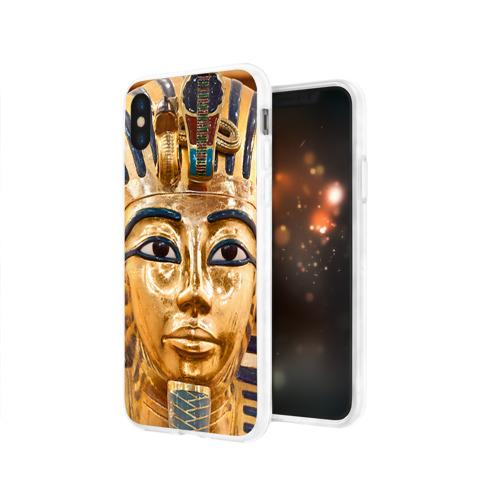 Чехол для Apple iPhone X силиконовый глянцевый  Фото 03, Фараон