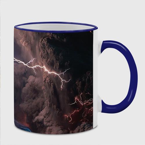 Кружка с полной запечаткой  Фото 02, Кот и молния