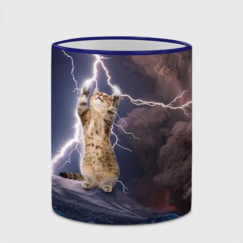 Кружка с полной запечаткой  Фото 03, Кот и молния