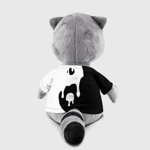 Игрушка Енотик в футболке 3D Инь Янь Фото 01