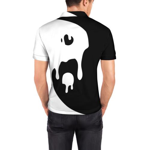 Мужская рубашка поло 3D  Фото 04, Инь Янь