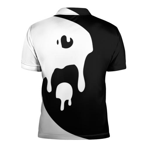 Мужская рубашка поло 3D  Фото 02, Инь Янь
