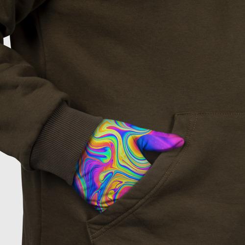 Перчатки 3D Цветные разводы Фото 01