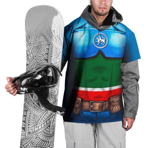 Накидка на куртку 3D  Фото 01, Капитан Татарстан