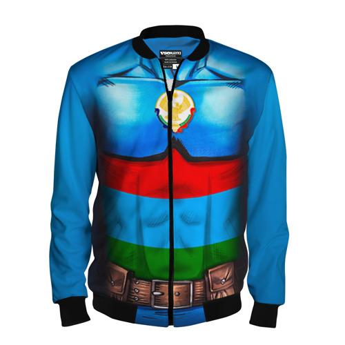 Мужской бомбер 3D Капитан Дагестан