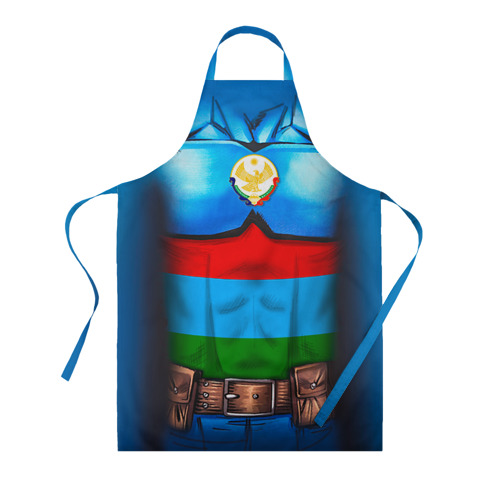 Фартук 3D Капитан Дагестан