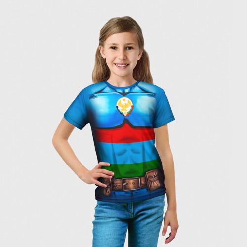Детская футболка 3D  Фото 03, Капитан Дагестан
