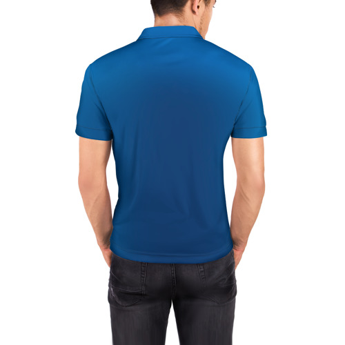 Мужская рубашка поло 3D  Фото 04, Капитан Казахстан