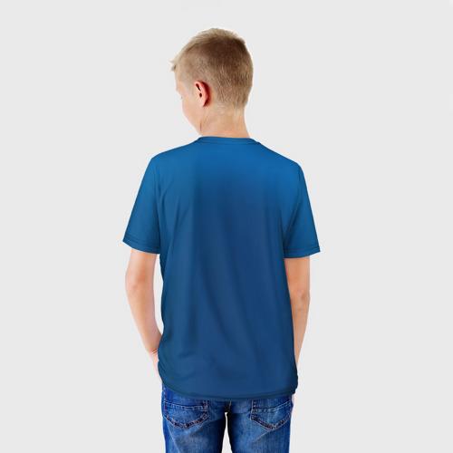 Детская футболка 3D Капитан Россия Фото 01