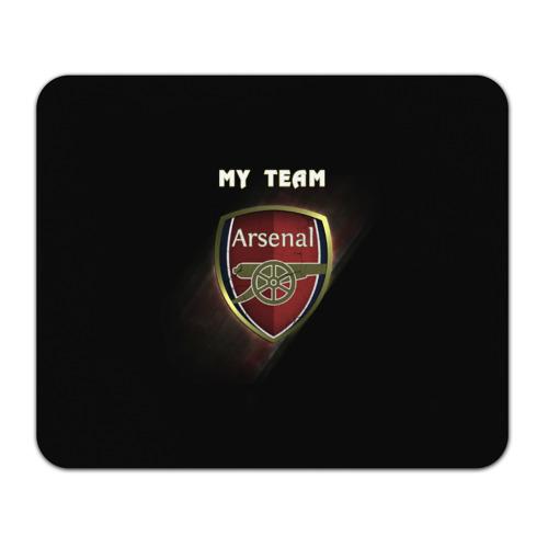 Коврик прямоугольный My team Arsenal фото